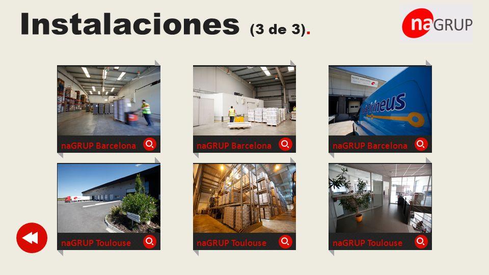 Instalaciones (3 de 3). naGRUP Barcelona naGRUP Barcelona