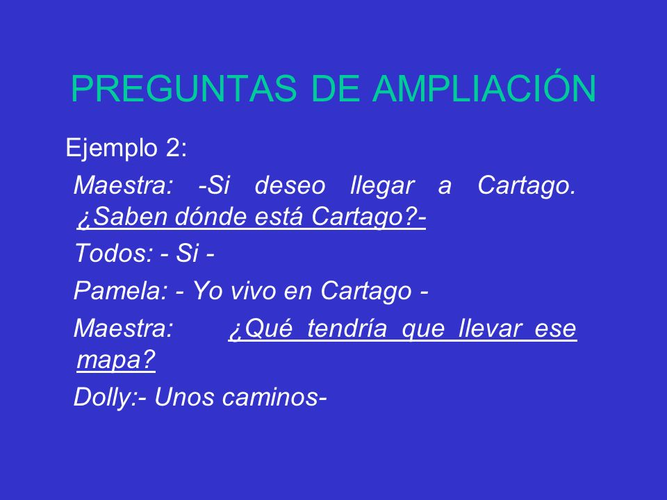 PREGUNTAS DE AMPLIACIÓN