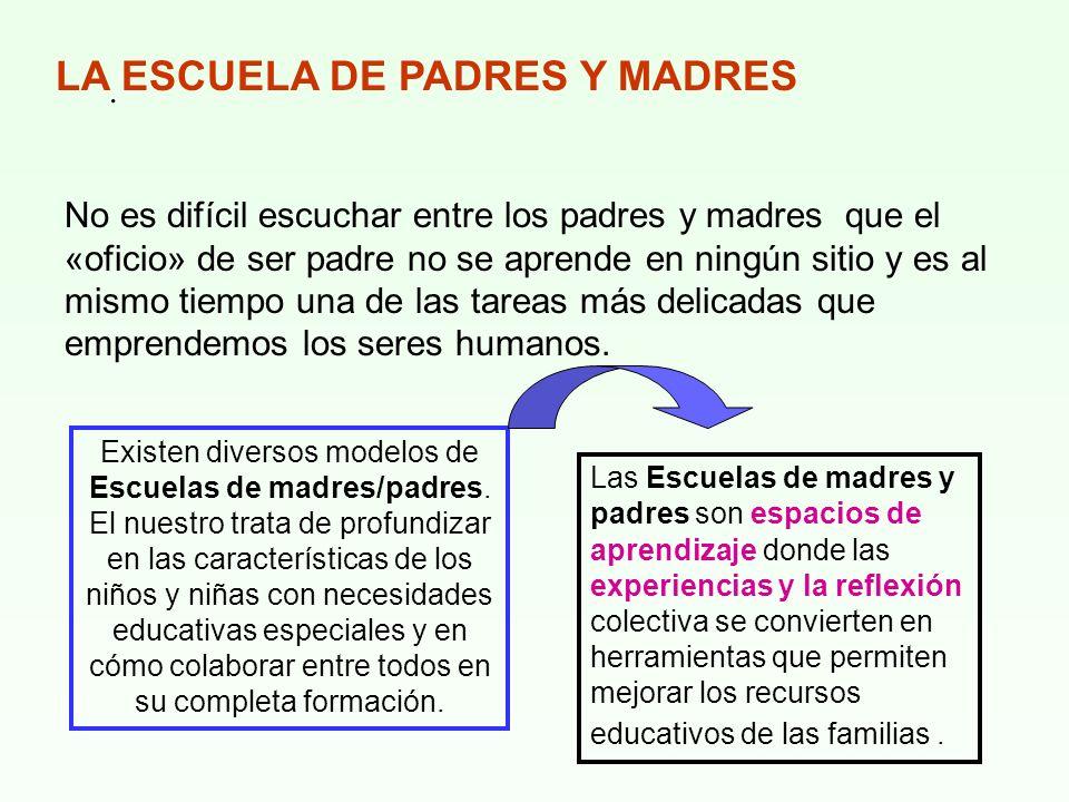 LA ESCUELA DE PADRES Y MADRES