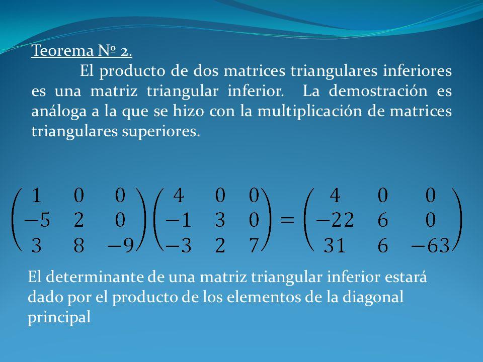 Teorema Nº 2.