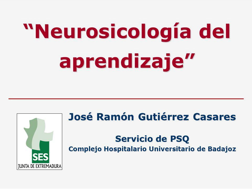 Neurosicología del aprendizaje
