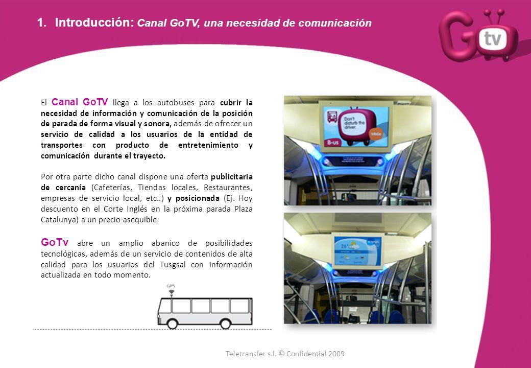 Introducción: Canal GoTV, una necesidad de comunicación