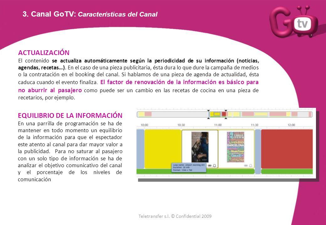 3. Canal GoTV: Características del Canal