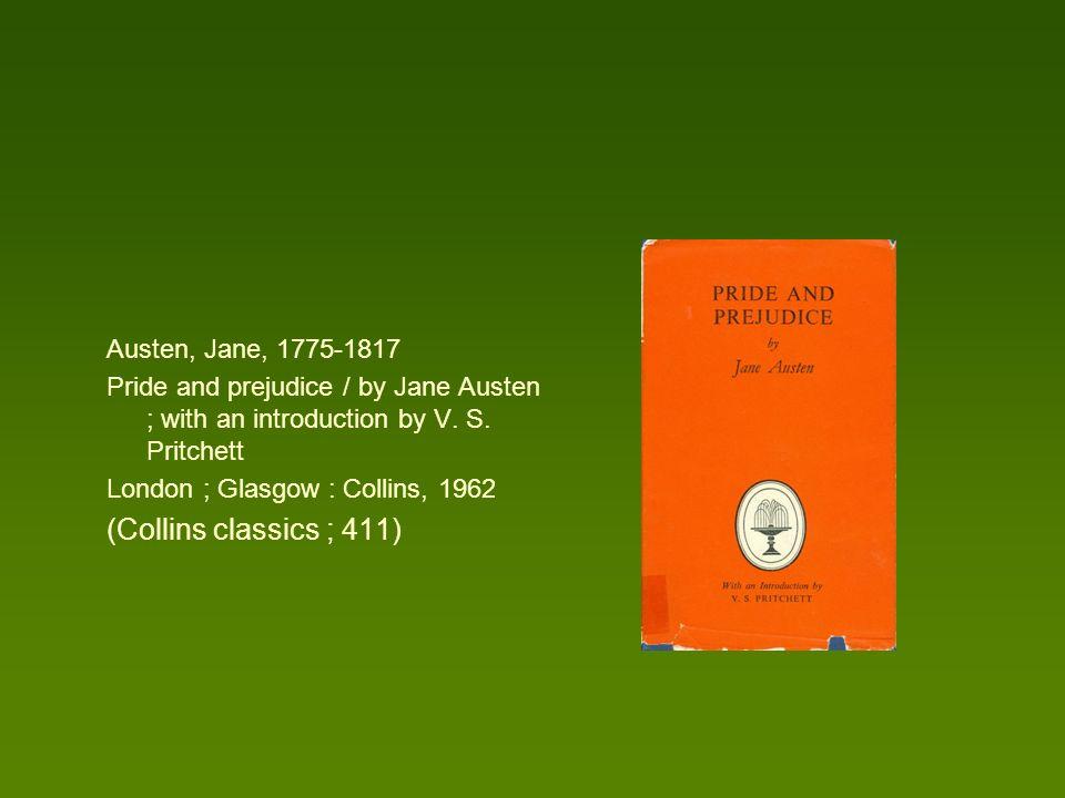 (Collins classics ; 411) Austen, Jane, 1775-1817