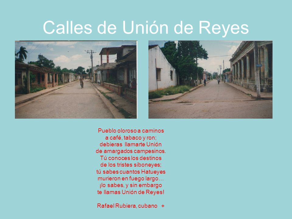 Calles de Unión de Reyes