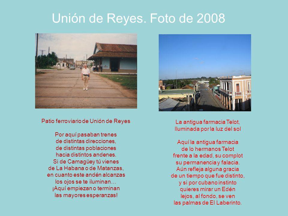 Unión de Reyes. Foto de 2008 Patio ferroviario de Unión de Reyes