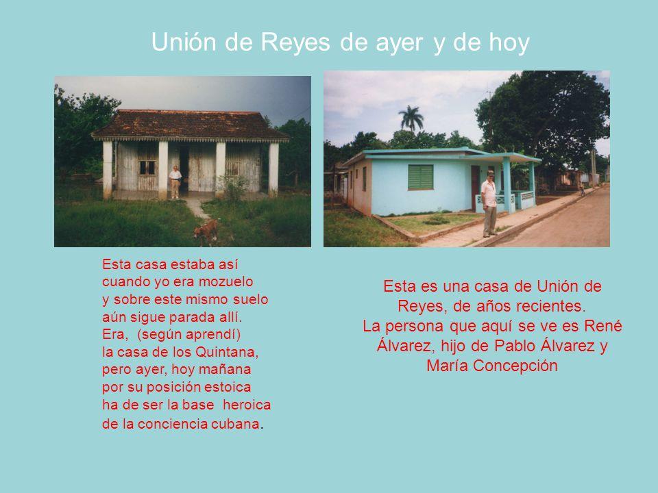 Unión de Reyes de ayer y de hoy