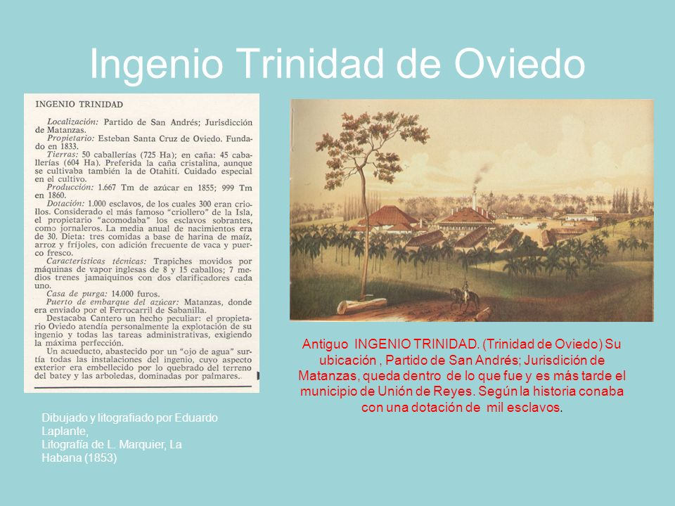 Ingenio Trinidad de Oviedo