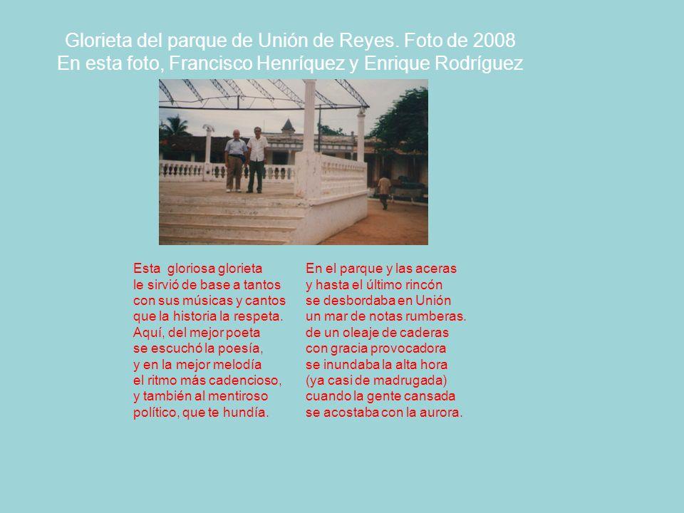 Glorieta del parque de Unión de Reyes. Foto de 2008