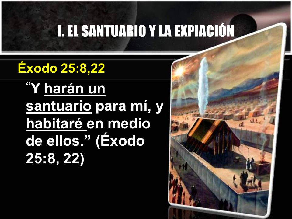 I. EL SANTUARIO Y LA EXPIACIÓN