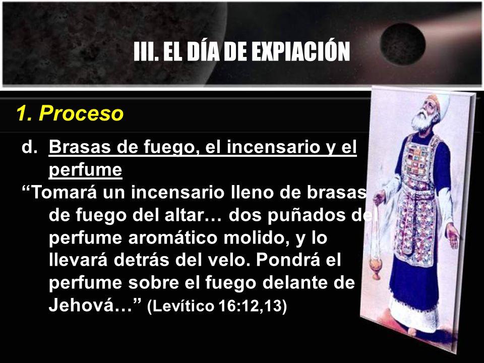 III. EL DÍA DE EXPIACIÓN 1. Proceso