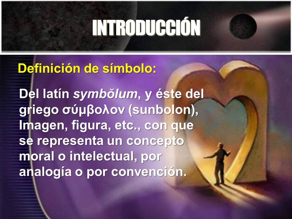 INTRODUCCIÓN Definición de símbolo: