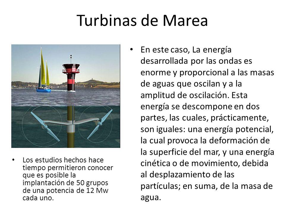 Turbinas de Marea