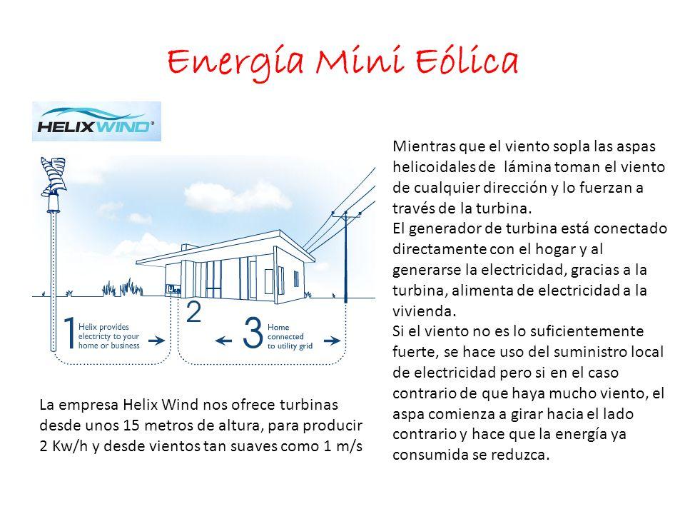 Energía Mini Eólica