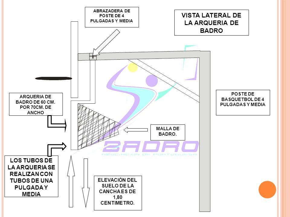 VISTA LATERAL DE LA ARQUERIA DE BADRO