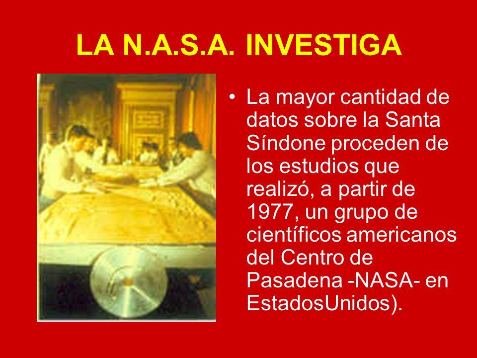 LA N.A.S.A. INVESTIGA