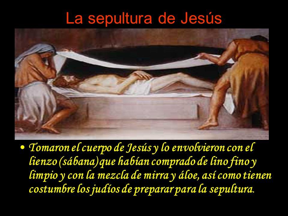 La sepultura de Jesús