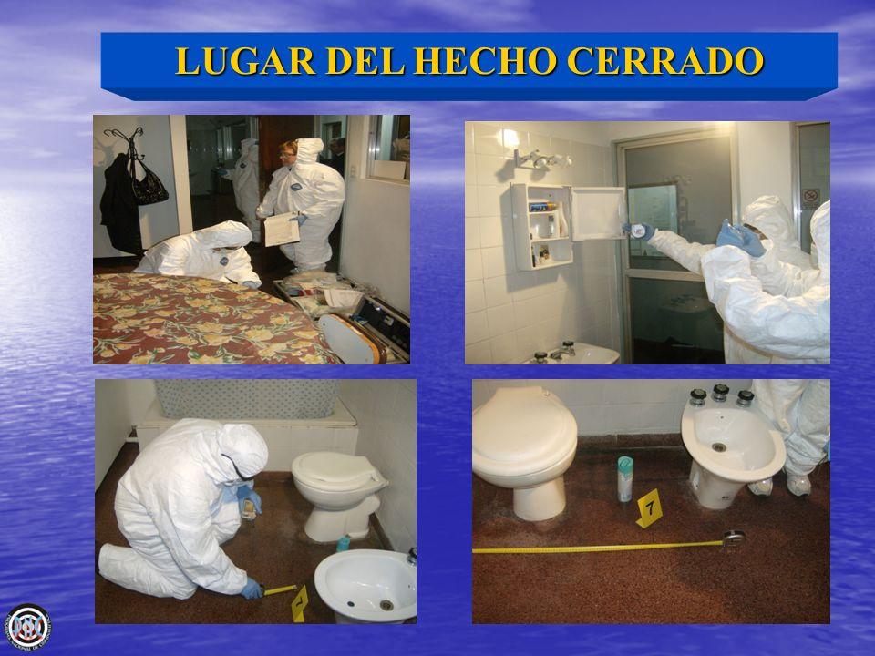 LUGAR DEL HECHO CERRADO