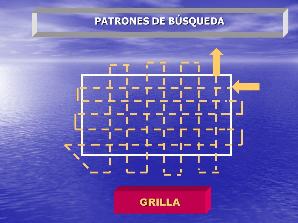 PATRONES DE BÚSQUEDA GRILLA