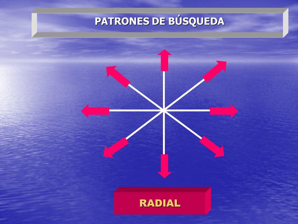 PATRONES DE BÚSQUEDA RADIAL