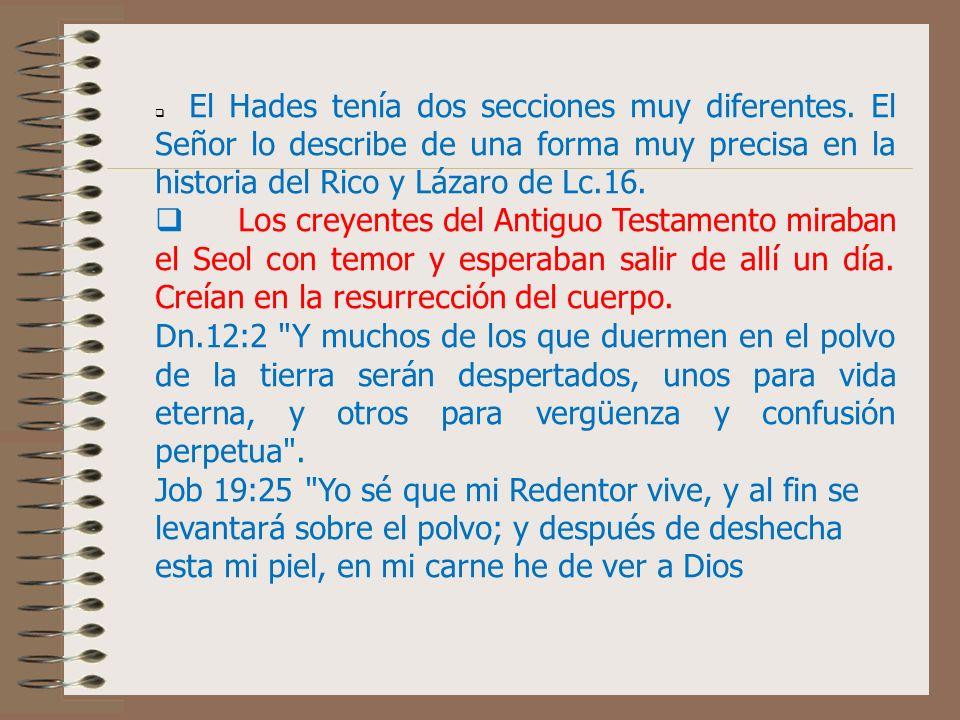 q El Hades tenía dos secciones muy diferentes