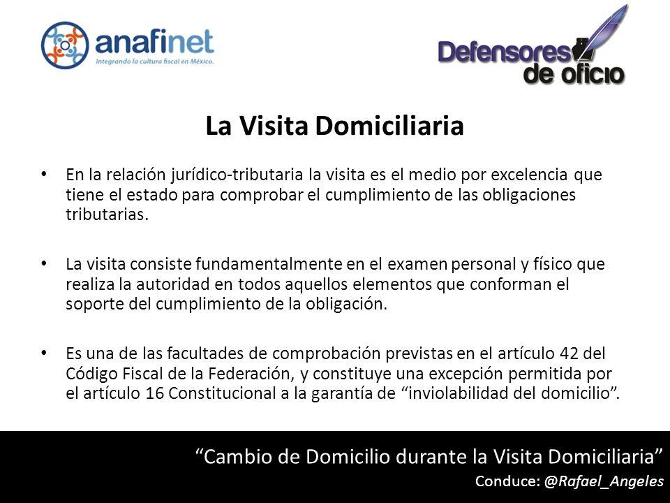 La Visita Domiciliaria