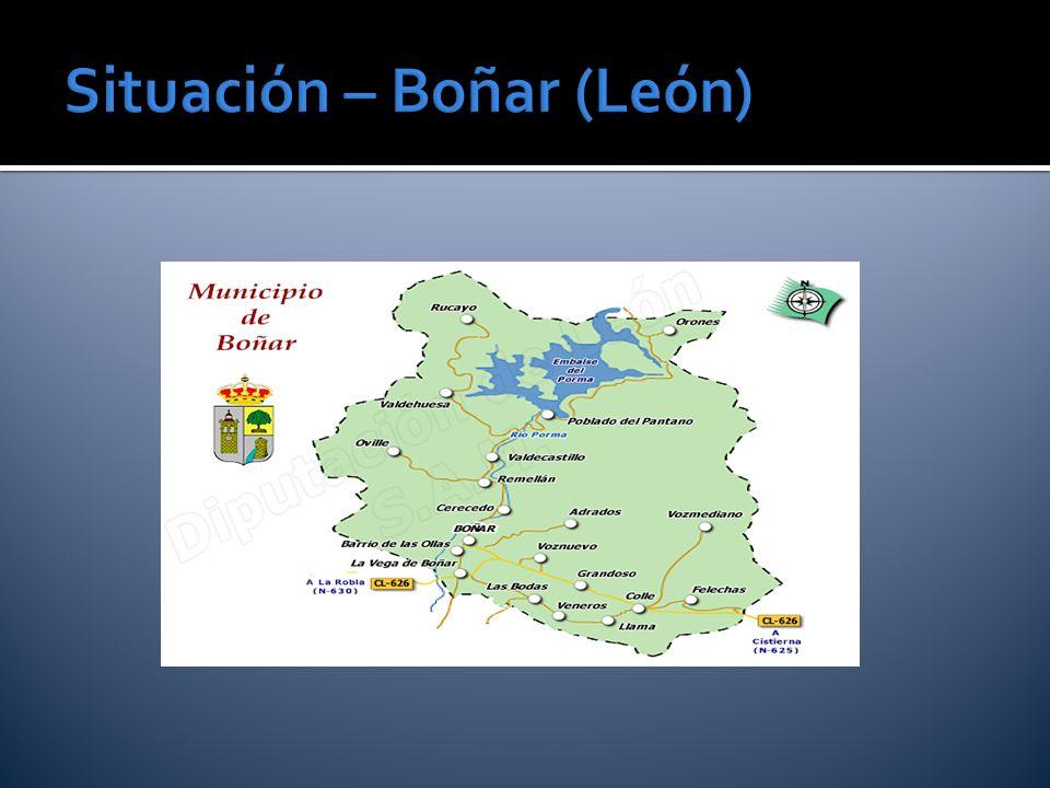 Situación – Boñar (León)
