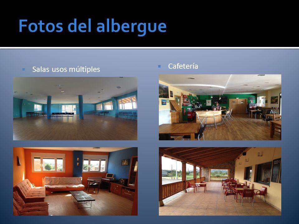 Fotos del albergue Salas usos múltiples Cafetería