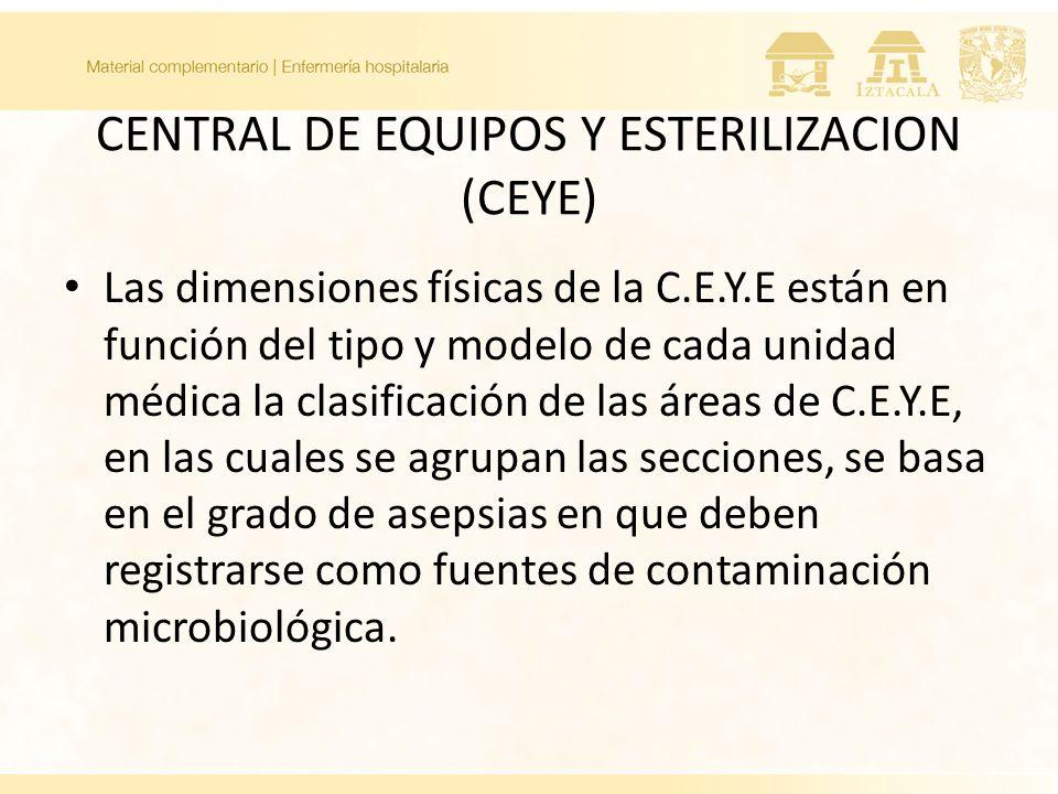 CENTRAL DE EQUIPOS Y ESTERILIZACION (CEYE)
