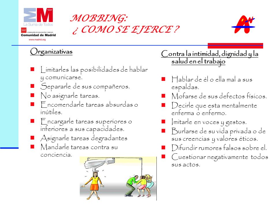 MOBBING: ¿ COMO SE EJERCE