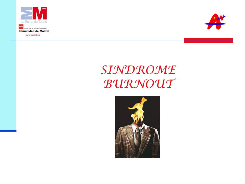 SINDROME BURNOUT