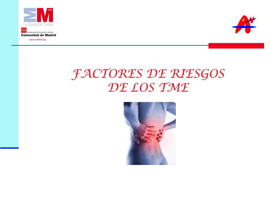 FACTORES DE RIESGOS DE LOS TME