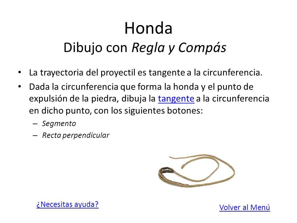 Honda Dibujo con Regla y Compás