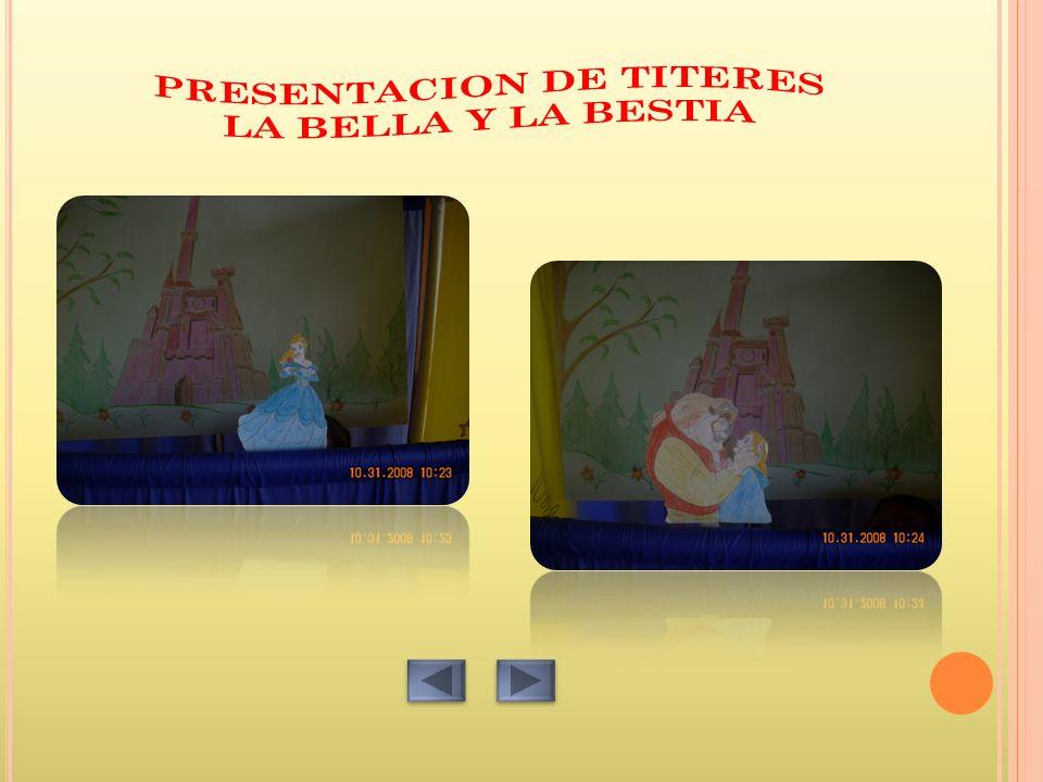 PRESENTACION DE TITERES