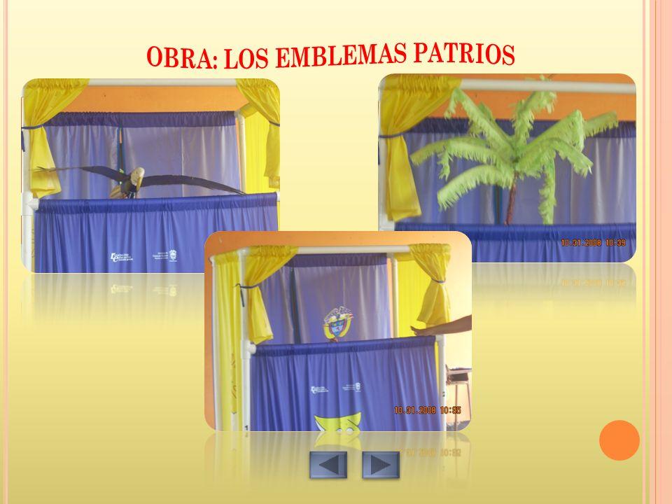 OBRA: LOS EMBLEMAS PATRIOS