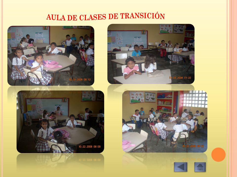 AULA DE CLASES DE TRANSICIÓN