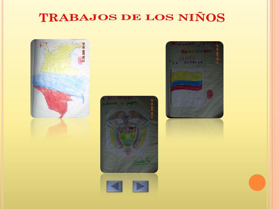 TRABAJOS DE LOS NIÑOS