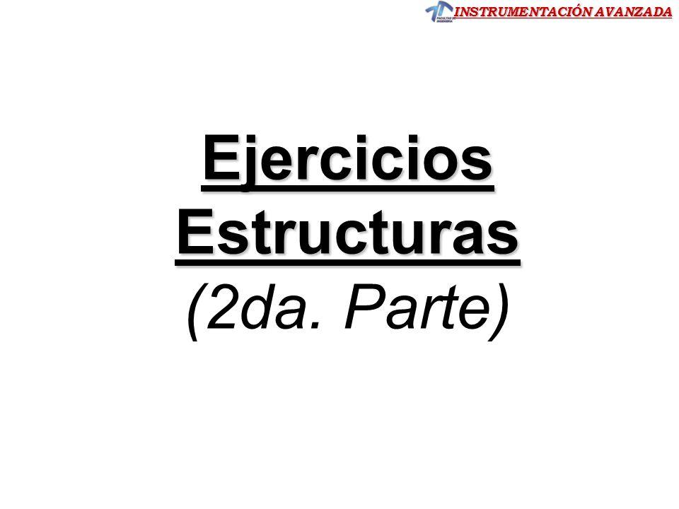 Estructuras (2da. Parte)