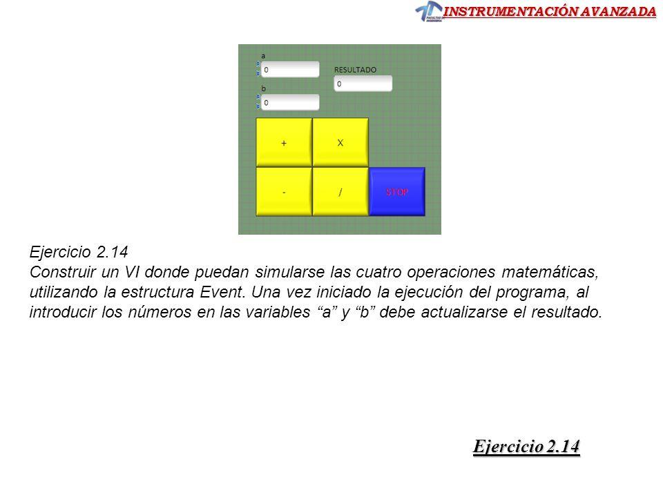 Ejercicio 2.14