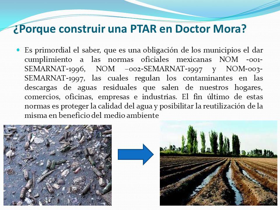 ¿Porque construir una PTAR en Doctor Mora