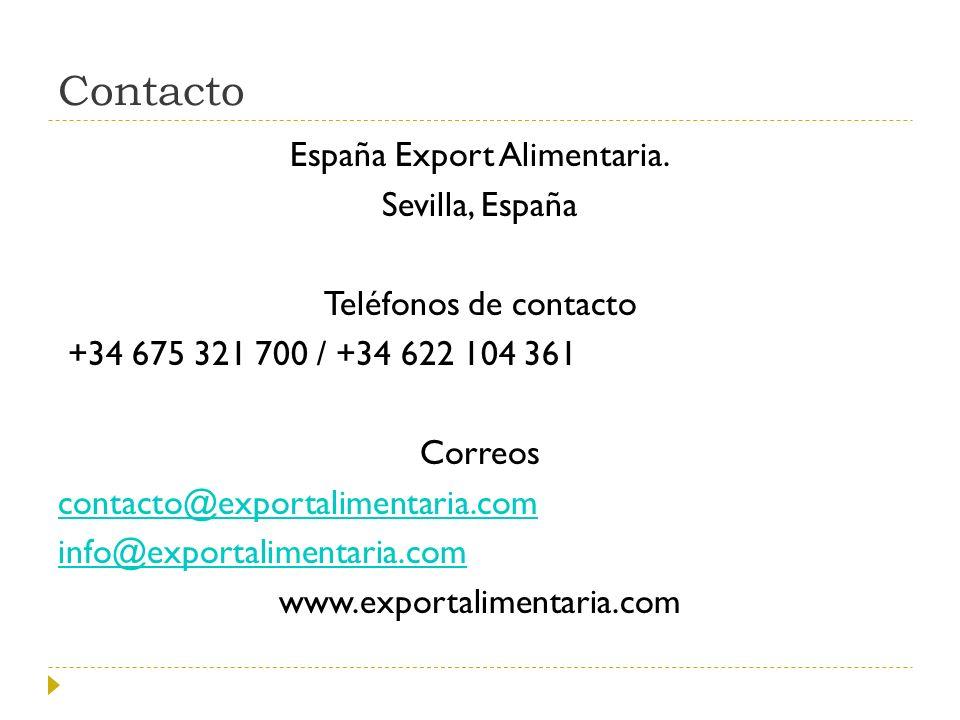 España Export Alimentaria.