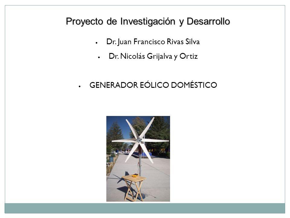 Proyecto de Investigación y Desarrollo