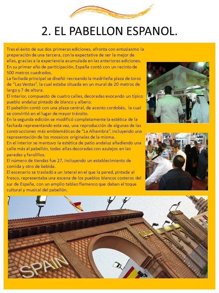 2. EL PABELLON ESPANOL.