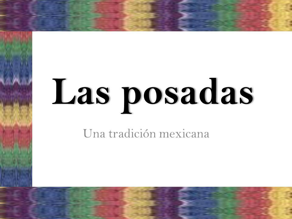 Una tradición mexicana