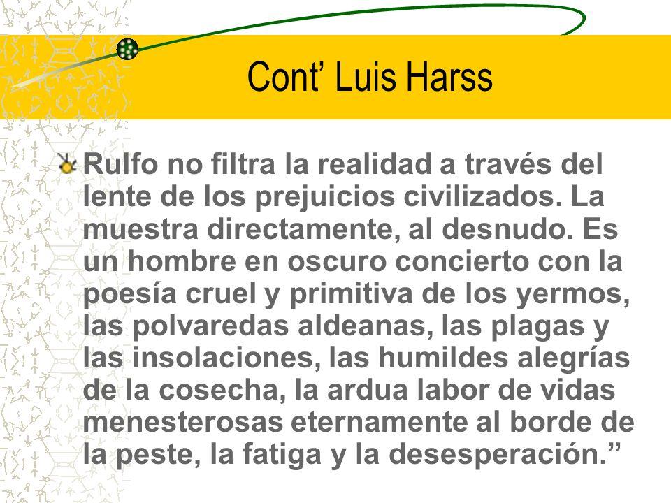 Cont' Luis Harss