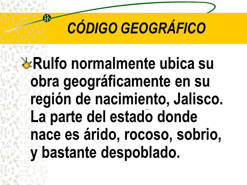 CÓDIGO GEOGRÁFICO