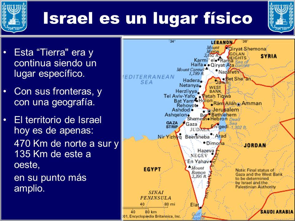 Israel es un lugar físico