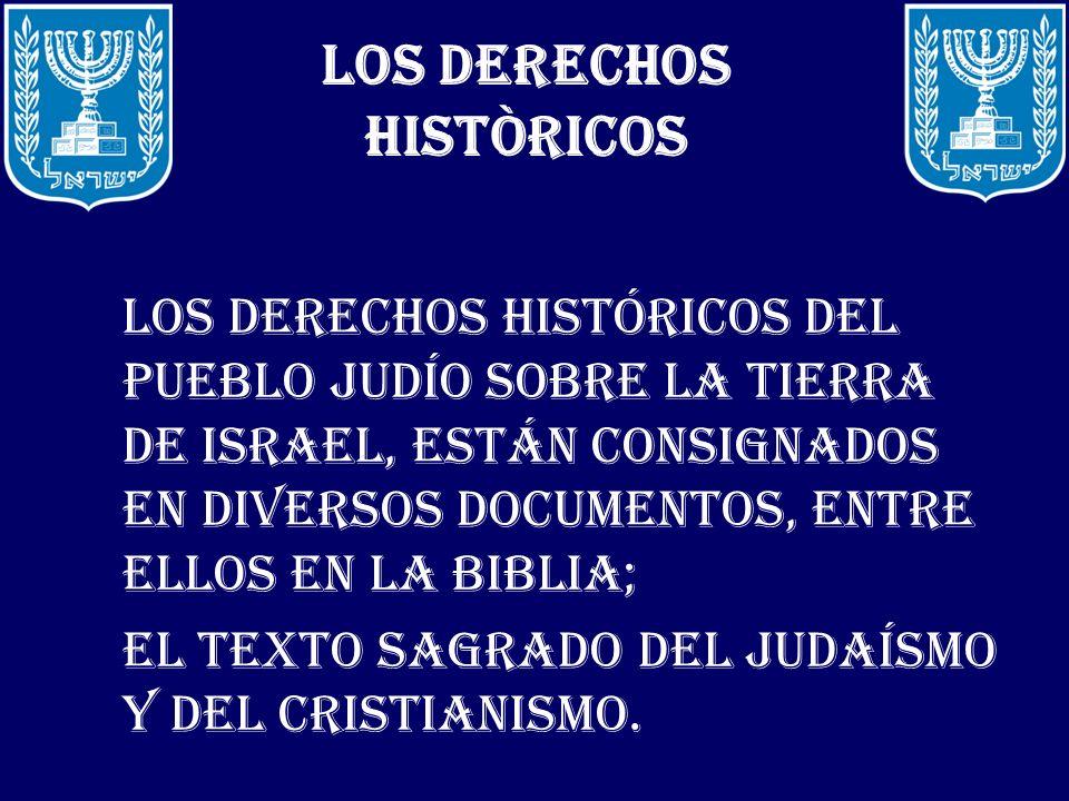 LOS DERECHOS HISTÒRICOS