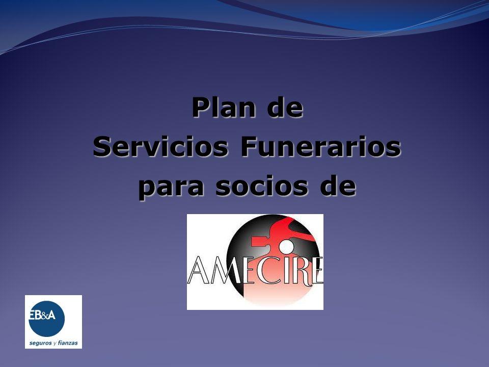 Plan de Servicios Funerarios para socios de