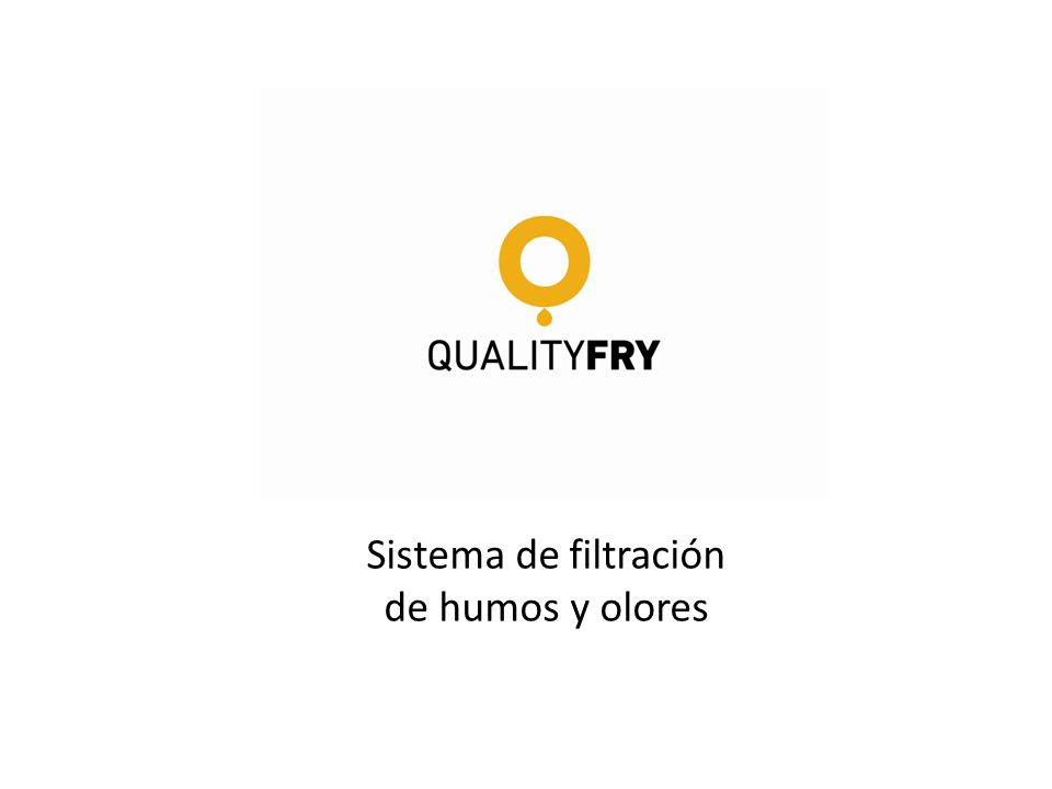 Sistema de filtración de humos y olores